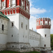 Towers and walls of Novodevichy Convent, Moscow — Stock Photo #12624092