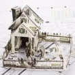 Stock Photo: House of the money for the architectural plan