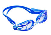 Blue swimming goggles — Foto Stock
