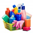 Stock Photo: Cleaners and cleaning equipment
