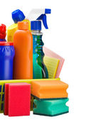 Various cleaning products — Stock Photo