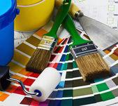 Strumenti e accessori per ristrutturazione casa — Foto Stock