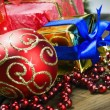 Decorations for Christmas and New Year — Stock Photo