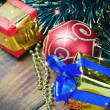 Decorations for Christmas and New Year - Stock Photo