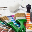 Paints and paint repair — Stock Photo