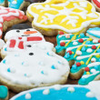 Homemade christmas cookies - Stock Photo