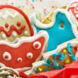 Royalty-Free Stock Photo: Christmas gingerbread house made