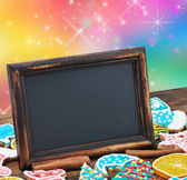 Blackboard with space for text — Stock Photo