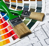 инструменты и аксессуары для ремонта дома — Стоковое фото