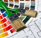 Ferramentas e acessórios para casa renovação — Foto Stock