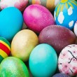 Painted and decorated Easter eggs — Foto Stock