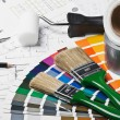 Stock Photo: Tools and accessories for home renovation