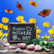 Stock Photo: Congratulations on Mother's Day