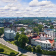 View from the Tower of Olaf the old town of Vyborg — Stock Photo #24401315