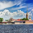 Peter and Paul Fortress, St. Petersburg — Stock Photo