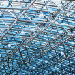 Fragment background futuristic roof - Stock Photo