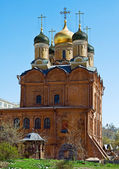 Church of the Theotokos of the Sign (Znamensky Monastery) in Mos — Stock Photo