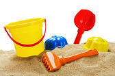 Toys for sandbox — Stock Photo