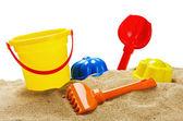 Brinquedos para área de segurança — Fotografia Stock