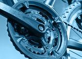 Part of Mountain Bike brake disc — Stock Photo