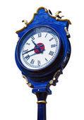 Velho relógio de rua retrô — Foto Stock