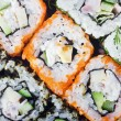 Sushi Roll background — Stock Photo
