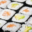 Fresh Japanese sushi Roll — Stock Photo