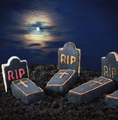 Sweet decorations for the Halloween — Stock Photo