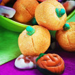 Stock Photo: candy and pumpkin souffle of a holiday Halloween
