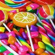Stock Photo: Multi-colored sweets and chewing gum