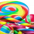 Great variety of colorful candy  — Stock Photo