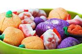 Dulces y caramelos para la fiesta halloween — Foto de Stock