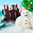 Scenery of sweets for the holiday merry christmas — Stock Photo