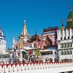 White-stone Kremlin in Izmaylovo in Moscow — Stock Photo #34664333