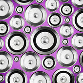 Sound speakers background — Stock Photo