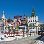 White-stone Kremlin in Izmaylovo in Moscow — Stock Photo #37247041