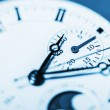 Arrows mechanical Clock. Very shallow depth of field and Focus o — Stock Photo