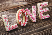 Love of cookies — Stock Photo
