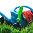 Garden tools isolated — Stock Photo