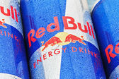 Red Bull is an energy drink  — Stock Photo