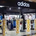 Постер, плакат: Adidas sportswear store