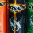 Постер, плакат: Various energy drinks adrenaline rush