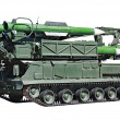 "Anti-aircraft missile system ""Buk-M2"" — Stock Photo #43537477"