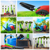 Set of garden tools   — Stockfoto