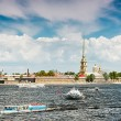 Peter and Paul Fortress, St. Petersburg, Russia — Stock Photo