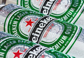Heineken Dutch brewing — Stock Photo