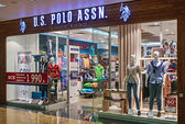 US Polo ASSN Store clothes in the mall Metropolis  — Stock Photo