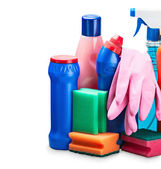 Cleaning equipment isolated  — Stock Photo