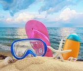 Acessórios de praia — Foto Stock