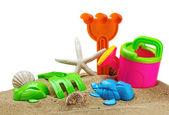 Speelgoed voor sandbox — Stockfoto